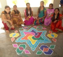 Rangoli competition