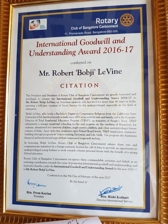 Rotary citation -2