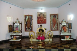 Inside our Bhajan hall
