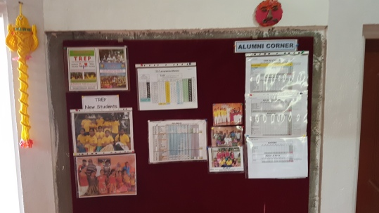 our Alumni bulletin board