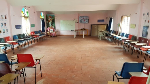 Our Satsanga hall for special programs, meetings, competitions