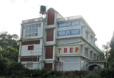 Our TREP hostel seen from the road